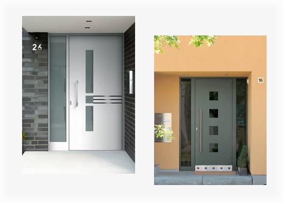 Aluminium Haustüre aus 72631 Aichtal