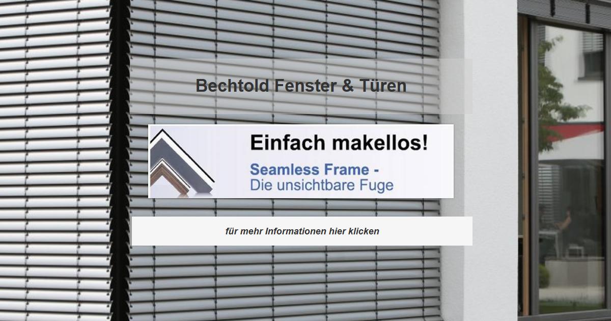 Fenster Sandhausen - Bechtold Rollladen, Wintergarten, Terrassendach