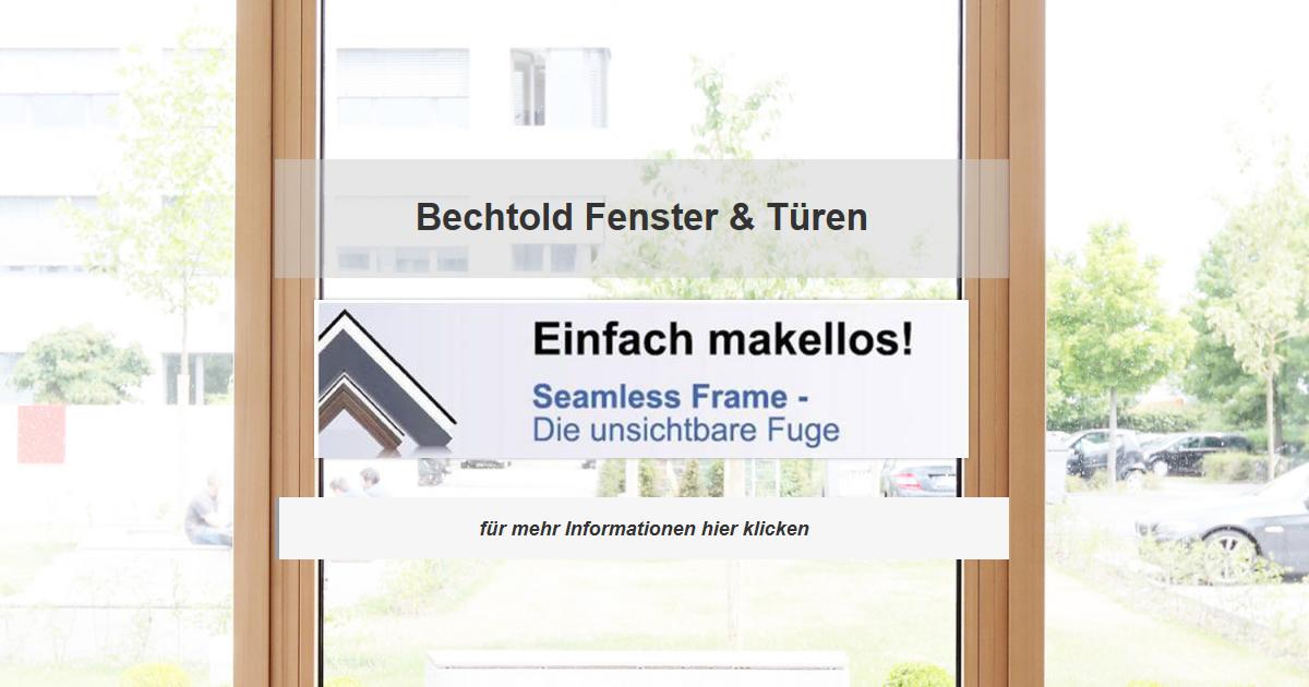 Fenster Scheibenhardt - Bechtold Wintergarten, Rollläden, Terrassenüberdachung