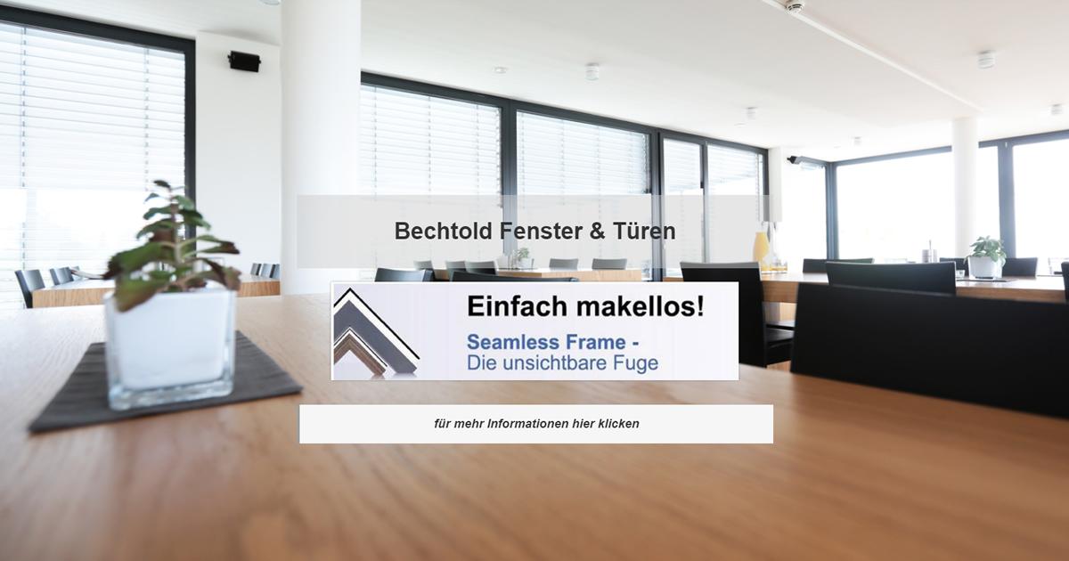 Fensterbau Homberg - Bechtold Wintergärten, Rolläden, Terrassenüberdachungen