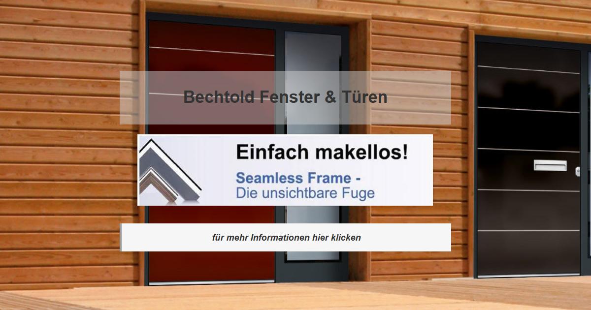 Fenster Aichtal - Bechtold Rollladen, Wintergärten, Terrassendach