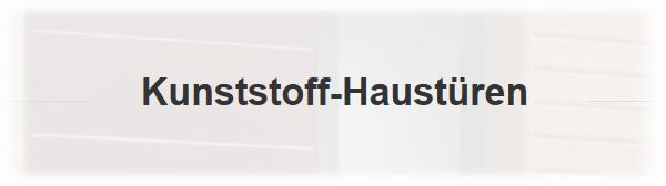 Kunststoff Haustüere für  Neulußheim