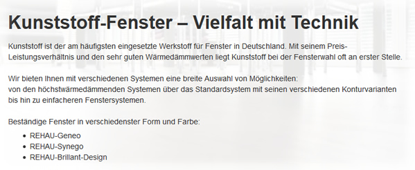 Kunststoff-fenster aus  Saarland