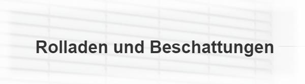 Rollläden Beschattung in  Rheinland-Pfalz