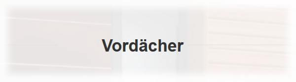 Vordach in  Rheinland-Pfalz
